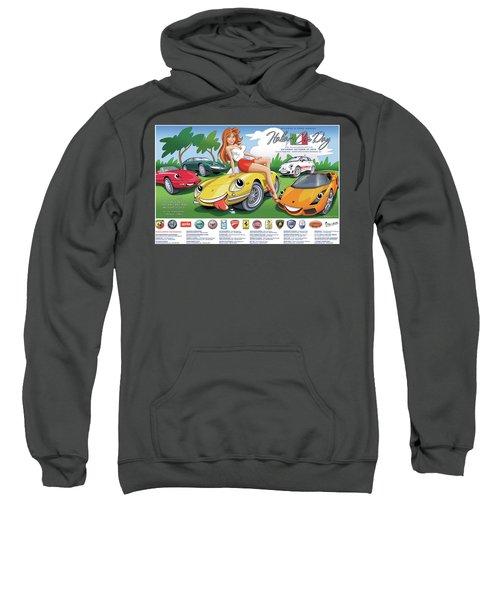 2018-2019 Atlanta Italian Car Day Poster Sweatshirt