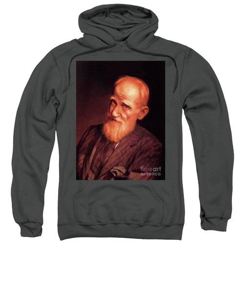 George Bernard Shaw, Literary Legend Sweatshirt