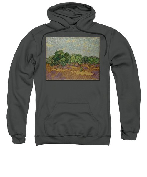 Olive Trees, 1889 Sweatshirt