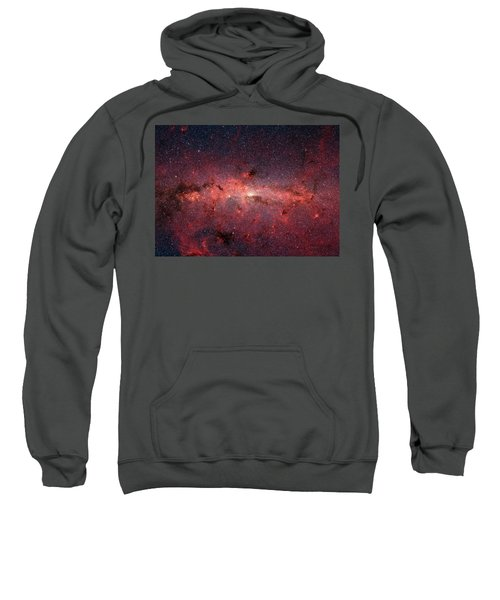 A Cauldrun Of Stars At The Milky Way Galaxy Center Sweatshirt