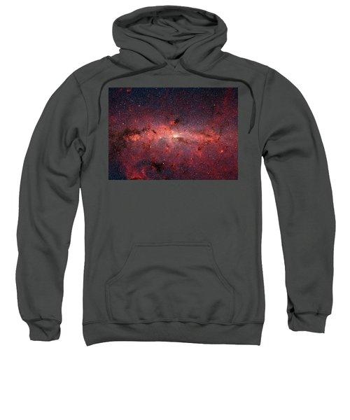 A Cauldrun Of Stars At The Milky Way Galaxy Center Sweatshirt