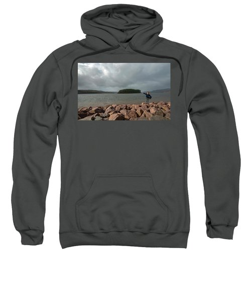 A Charming Little Girl In The Isle Of Skye 1 Sweatshirt