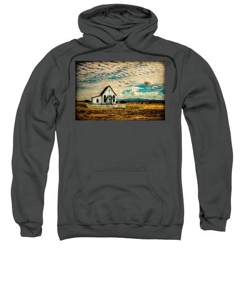 A Lone Prairie Church Sweatshirt