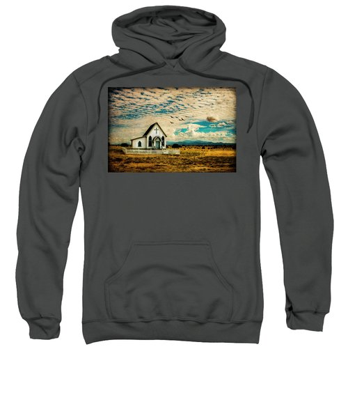 A Lone Prairie Church Sweatshirt