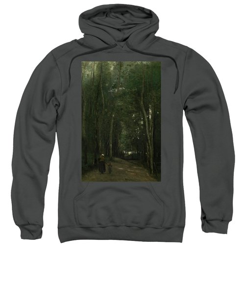 A Path In Saint-cloud Sweatshirt