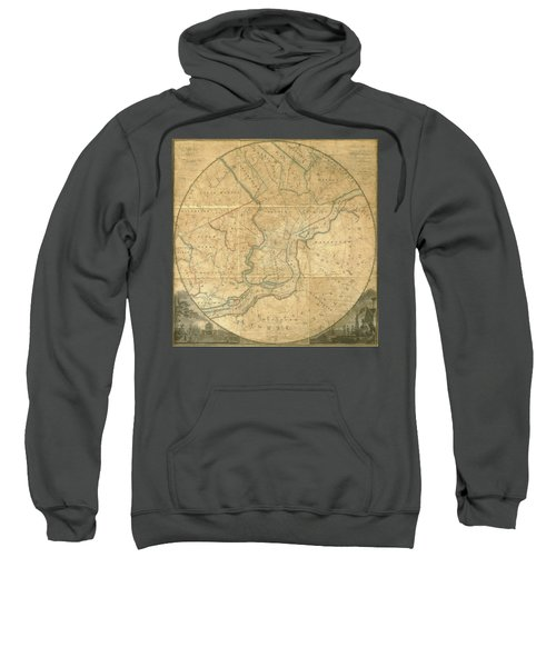 A Plan Of The City Of Philadelphia And Environs, 1808-1811 Sweatshirt