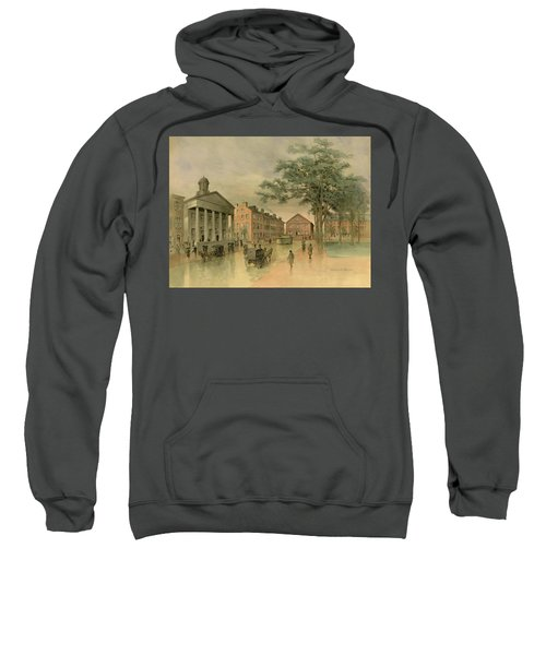 A Southwestern View Of Washington Square Sweatshirt