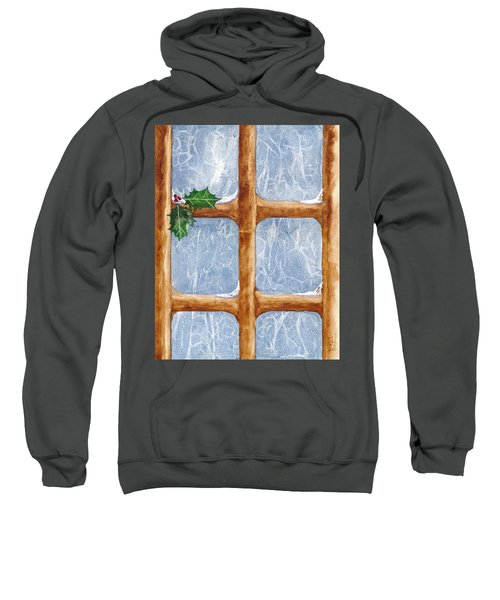 A Visit From Jack Frost Sweatshirt