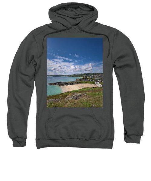 A Walk To Porthgwidden Beach - St Ives Cornwall Sweatshirt