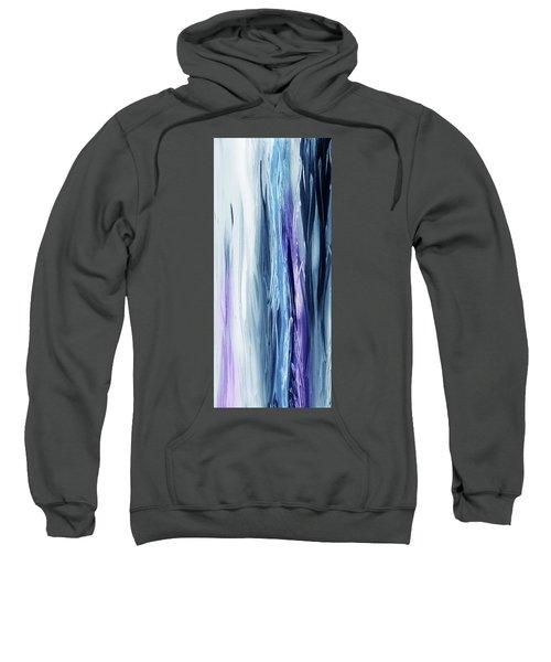 Abstract Flowing Waterfall Lines IIi Sweatshirt