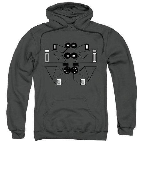 Abstract Geometric Retro 1 Sweatshirt