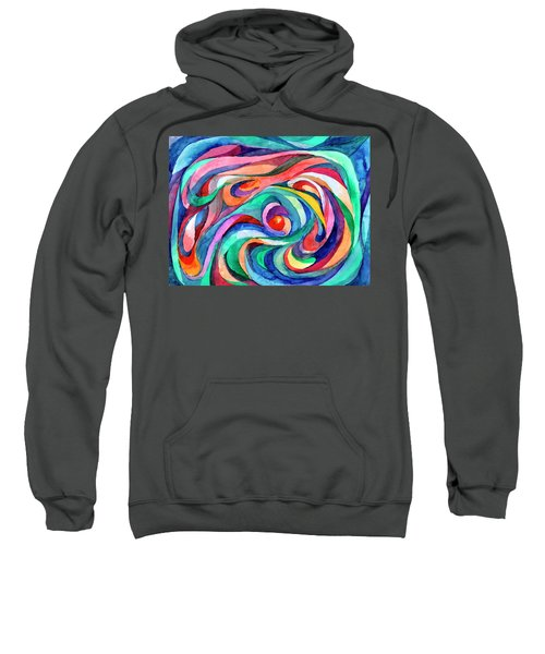Abstract Underwater World Sweatshirt