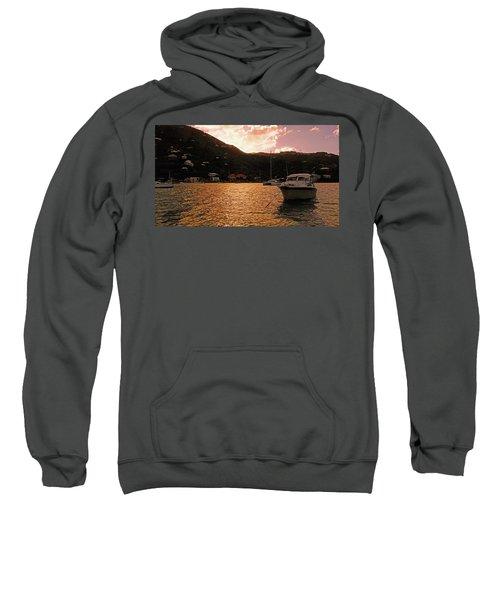 Abstractions Of Coral Bay Sweatshirt