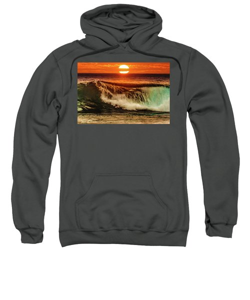 Ahh.. The Sunset Wave Sweatshirt