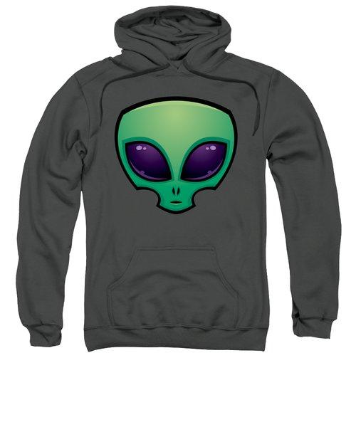Alien Head Icon Sweatshirt