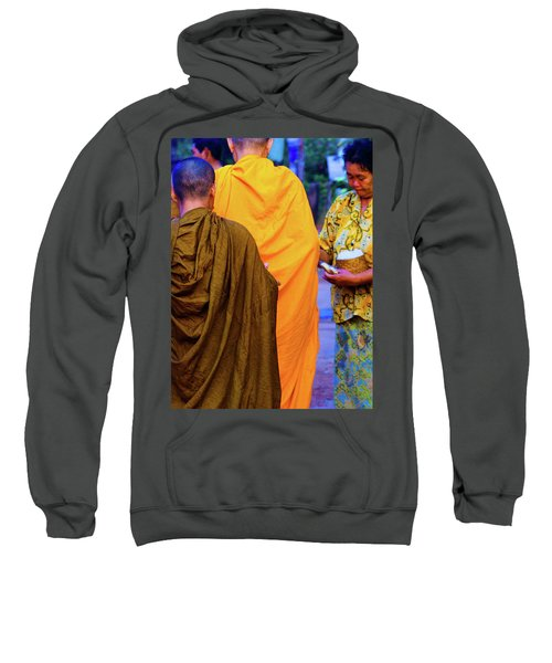 Alms For The Monks Sweatshirt