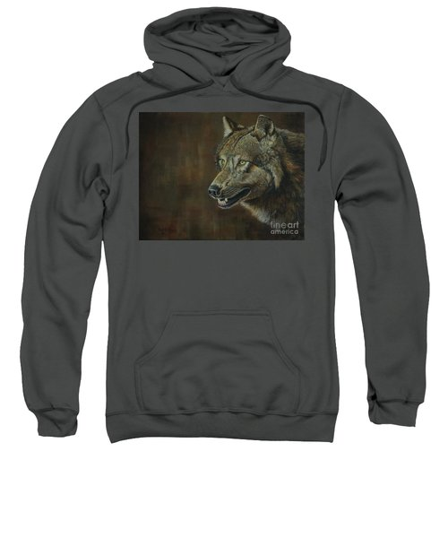 Alpha Male ......the Gray Wolf Sweatshirt