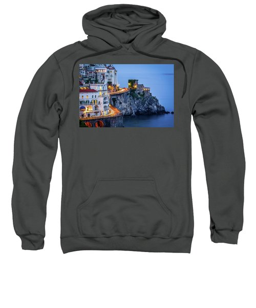 Amalfi Coast Italy Nightlife Sweatshirt