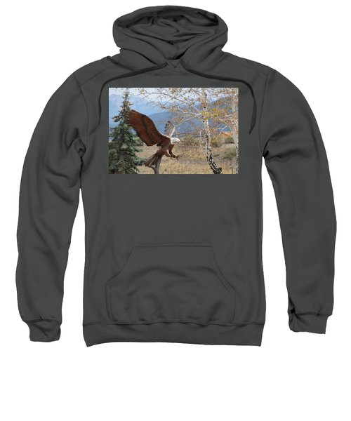 American Eagle In Autumn Sweatshirt