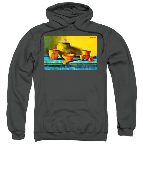 Ancient Kitchen Objects - Da Sweatshirt