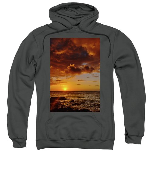 And Then The Sun Set Sweatshirt