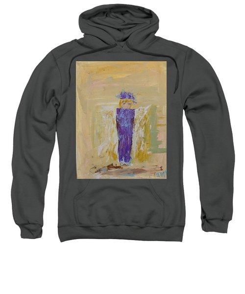 Angel Girl With A Unicorn Sweatshirt
