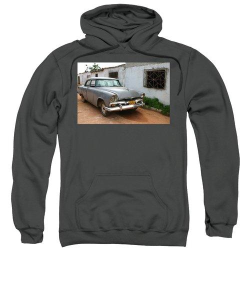 Antique Car Grey Cuba 11300501 Sweatshirt