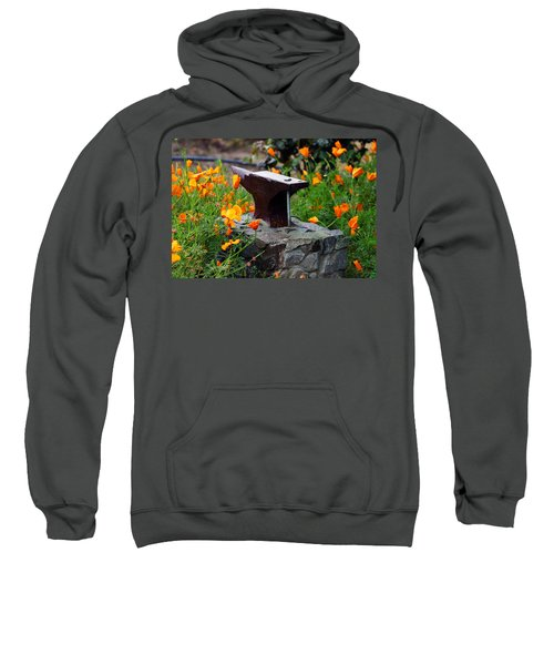Anvil In The Poppies Sweatshirt