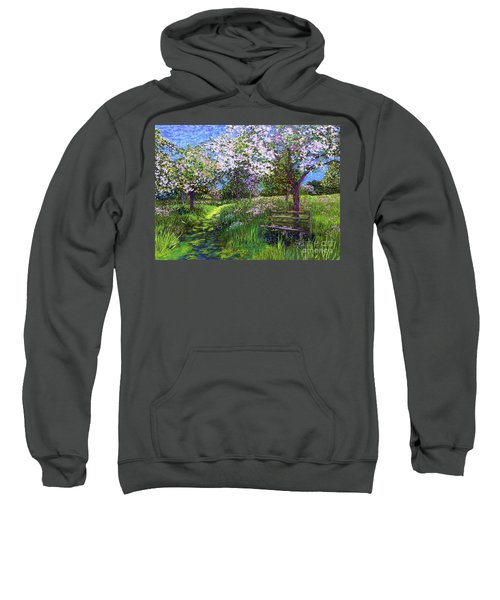 Apple Blossom Trees Sweatshirt