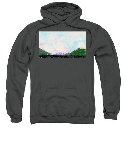 April Landscape  Sweatshirt