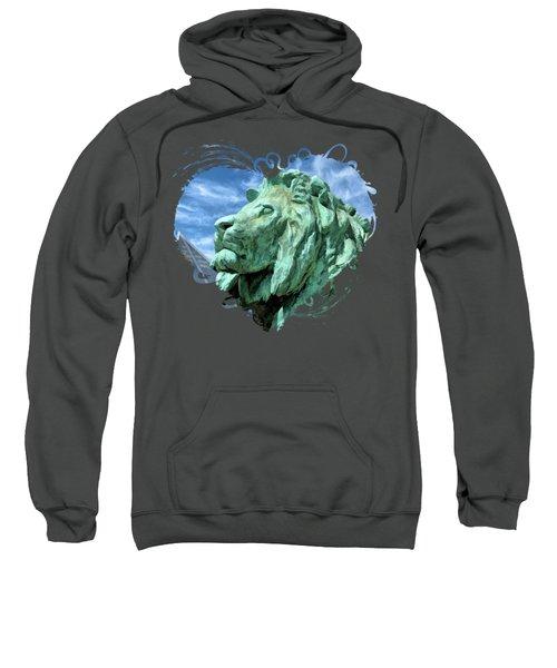 Art Institute In Chicago Lion Sweatshirt