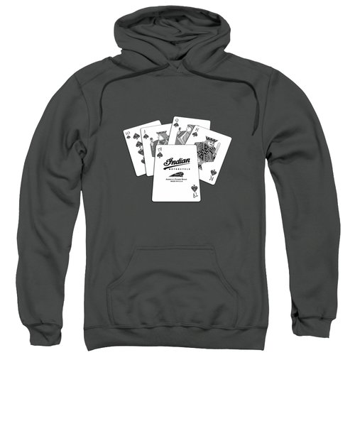 Indian - The Winning Hand Sweatshirt
