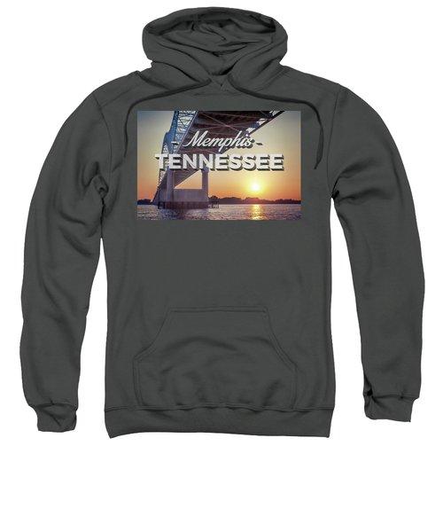 Bridge Over Mississippi River Sweatshirt