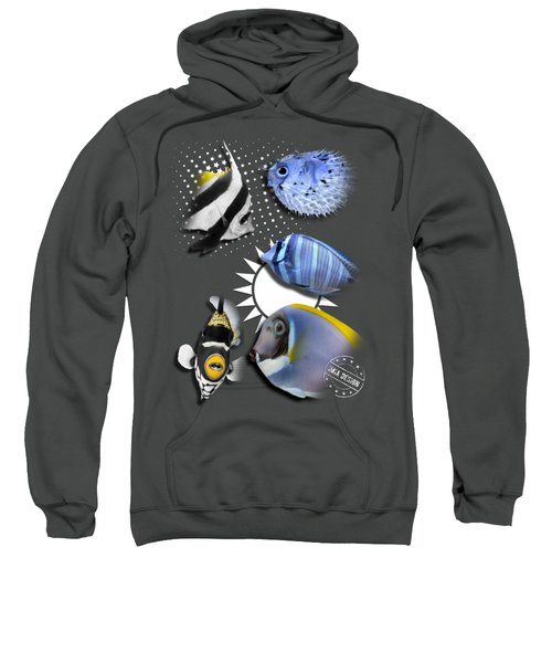 A Bunch Of Colorful Fishes No 06 Sweatshirt