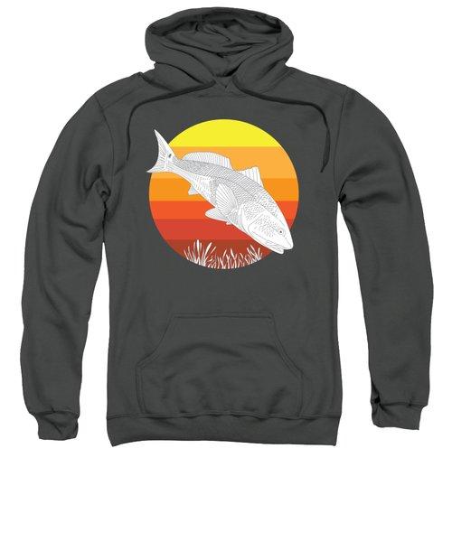 Sunset Redfish Sweatshirt