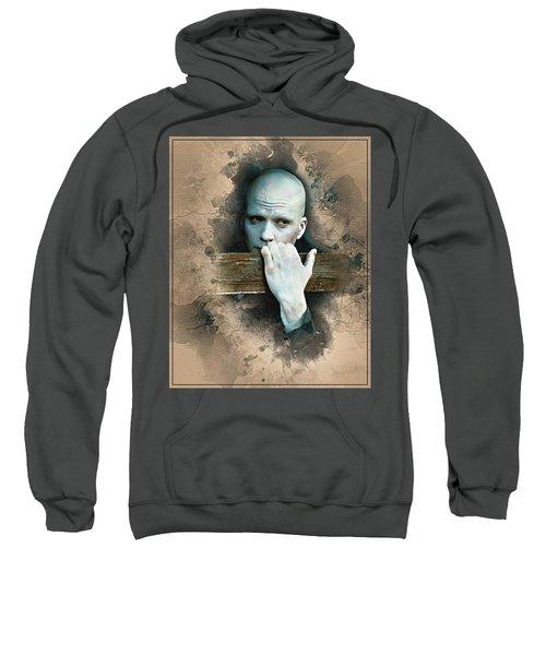 Flanery As Powder Watercolor  Sweatshirt