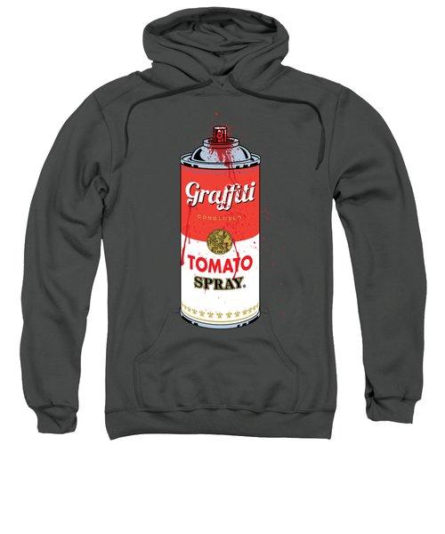 Tomato Spray Can Sweatshirt