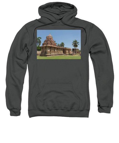 Asia, India, Tamil Nadu, Gangaikonda Cholapuram, Brihadisvara Temple Sweatshirt