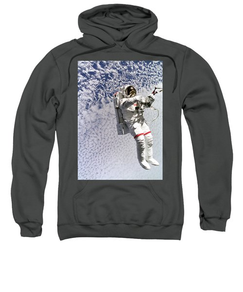 Astronaut In Space Sweatshirt