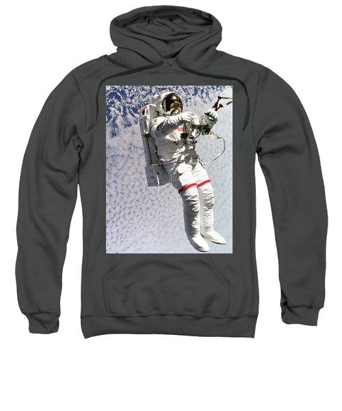 Astronaut In Space Sweatshirt