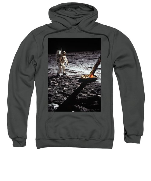 Astronaut On Lunar Surface Sweatshirt