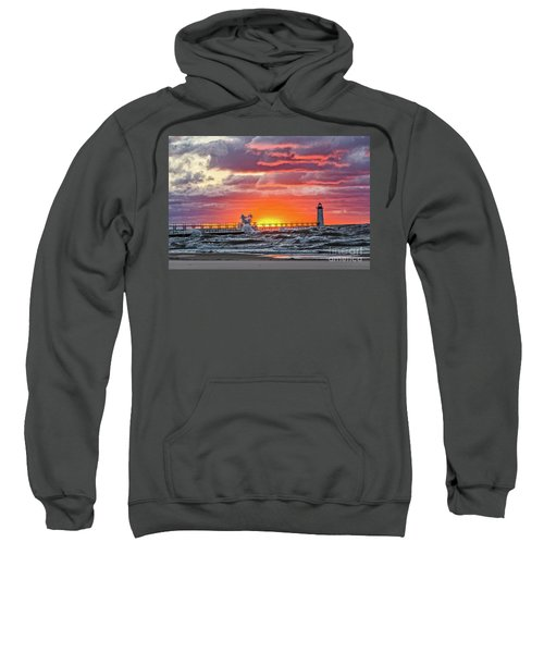 At The Beginning Of The Sunset Sweatshirt