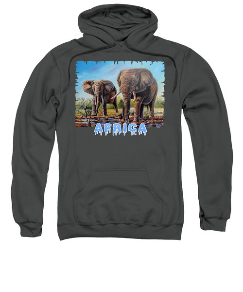 Arriving At The Muddy Pool Sweatshirt