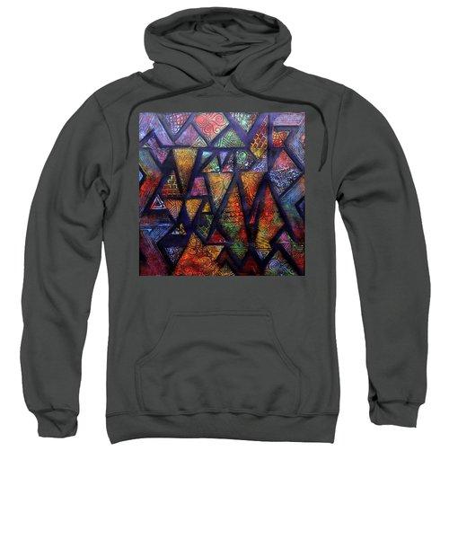 Attractive Mosaic  Sweatshirt