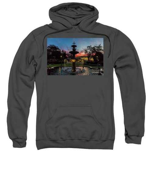 Augusta University Fountain Sunset Ga Sweatshirt