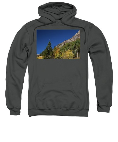 Sweatshirt featuring the photograph Autumn Bella Luna by James BO Insogna