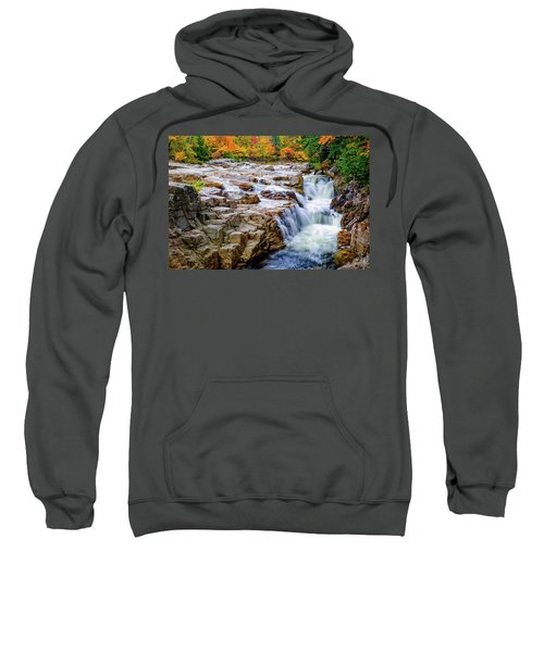 Autumn Color At Rocky Gorge Sweatshirt