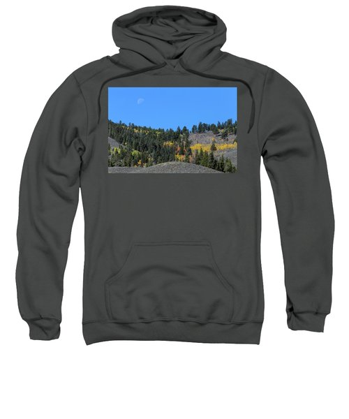 Sweatshirt featuring the photograph Autumn Moon by James BO Insogna