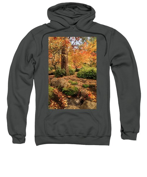 Autumn Stream In Lithia Park Sweatshirt