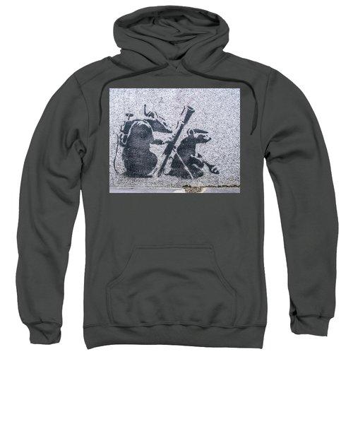 Banksy Bazooka Rats Sweatshirt